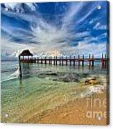 Sunscape Sabor Pier Acrylic Print