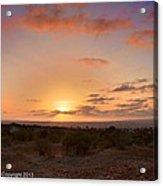 Sunset @ Rim Trail Acrylic Print