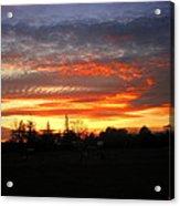 Sunset 02 28 13 Acrylic Print