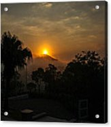 Sunset-1 Acrylic Print by Fabio Giannini