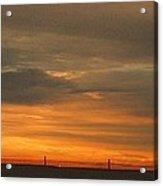 Sunset 1013 Acrylic Print by David Dehner