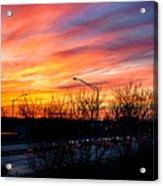 Sunset 11-14-13 2 Acrylic Print