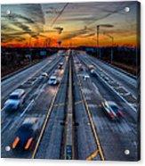 Sunset 11-22-13 003 Acrylic Print