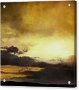 Pouzol Sunset 92 X 122cm Acrylic Print