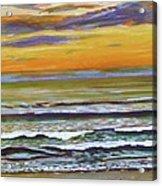 Sunset Along Maine Coast Acrylic Print