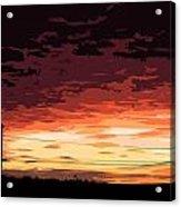 Sunset Alternative Acrylic Print