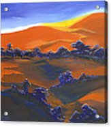 Sunset And Shadow Acrylic Print