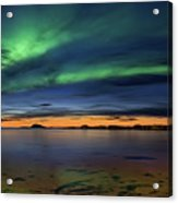 Sunset At Andenes Acrylic Print