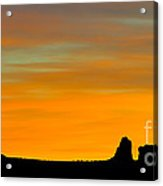 Sunset At Arches National Park Acrylic Print