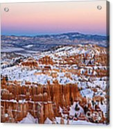 Sunset At Bryce Canyon National Park Utah Acrylic Print