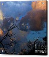 Sunset At Clam Pass Acrylic Print