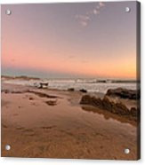 Sunset At Crystal Cove Hdr Acrylic Print