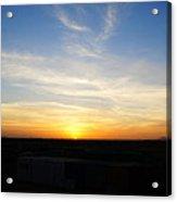 Sunset At Darfur Acrylic Print