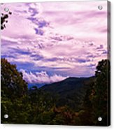 Sunset At Gorges State Park Acrylic Print