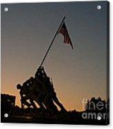 Sunset At Iwo Jima  Acrylic Print