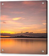 Sunset At Lake Titicaca - Peru Acrylic Print