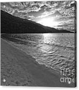 Sunset At Magens Bay Beach Acrylic Print