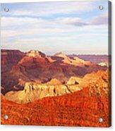 Sunset At Mather Point Grand Canyon Acrylic Print