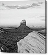 Sunset At Monument Valley, Monument Acrylic Print