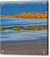 Sunset At Morris Island Sc Acrylic Print