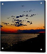 Sunset At Nathan Hale Acrylic Print
