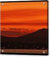 Sunset At Noosa Heads Acrylic Print