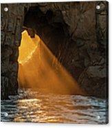 Sunset At Pfeiffer Beach Acrylic Print