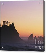 Sunset At Point Of The Arches Acrylic Print