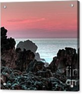 Sunset At Salt Point Acrylic Print