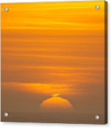 Sunset At Samoa 1.7117 Acrylic Print