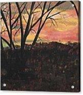 Sunset At Spring City Tenn Acrylic Print