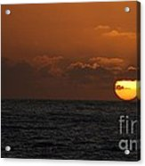 Sunset At St Ives Acrylic Print