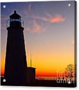 Turkey Point At Sunset Acrylic Print