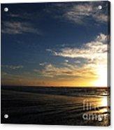 Sunset At Westport Beach Acrylic Print