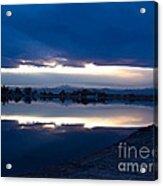 Sunset At Windsor Lake Acrylic Print by Dana Kern
