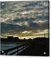 Sunset Avon Pier 1 10/15 Acrylic Print