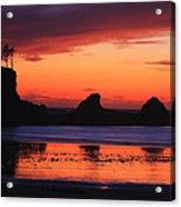 Sunset Bay Sunset 2 Acrylic Print