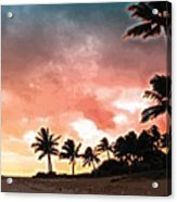 Sunset Beach Acrylic Print