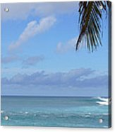 Sunset Beach Oahu Hawaii Acrylic Print
