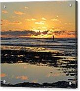 Sunset Beach Acrylic Print