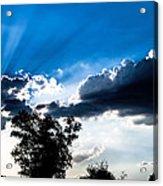Sunset Beams Acrylic Print