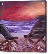 Sunset Bliss Acrylic Print