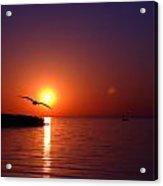 Sunset Blue Acrylic Print