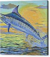 Sunset Blue Off0085 Acrylic Print