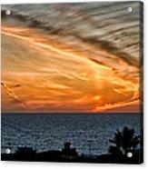 Sunset Blues Acrylic Print
