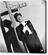 Sunset Boulevard, William Holden 1950 Acrylic Print