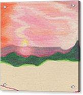 Sunset By Jrr Acrylic Print