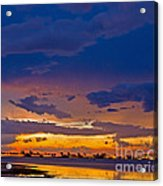 Sunset By The Bay Acrylic Print