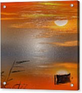 Sunset Charm, 30 Landscape Wall Art Painting Pack  Sunset-sunrise, Evening, Sea, Water, Ocean Etc  Acrylic Print