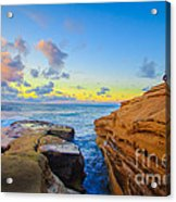 Sunset Cliffs Ave Acrylic Print